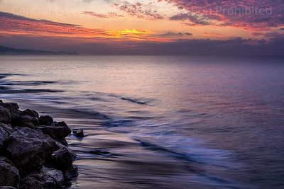 Goleta Beach Before Sunrise 1