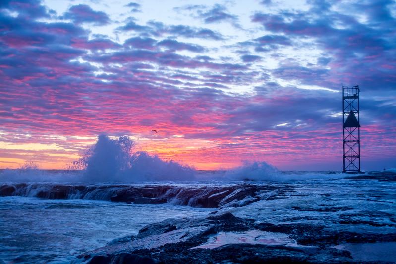 Sunrise on Shark River Inlet 3/20/16