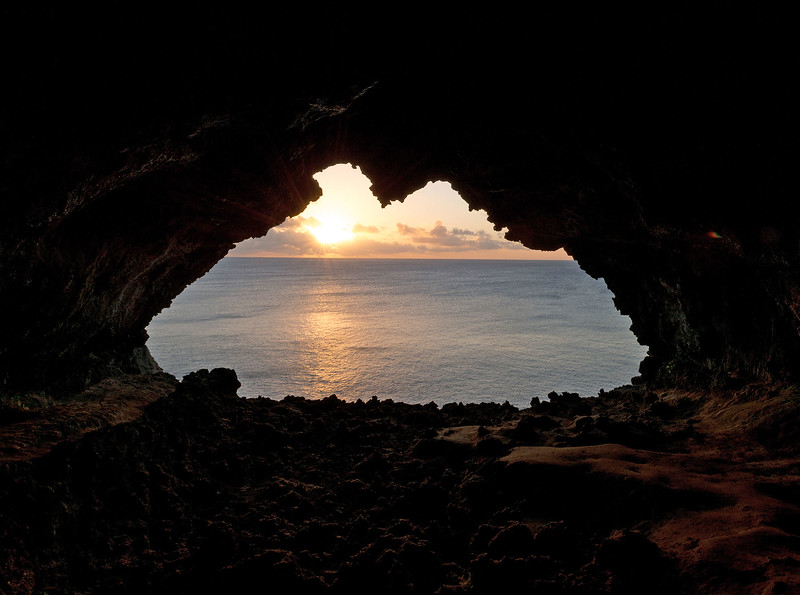 Cave View @ Sunset #1