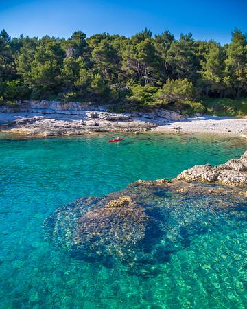 Galeb's Rocks, Pula, Croatia