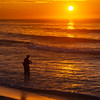 Sunrise Over A Fisherman On Ocean Grove Beach 6/28/20