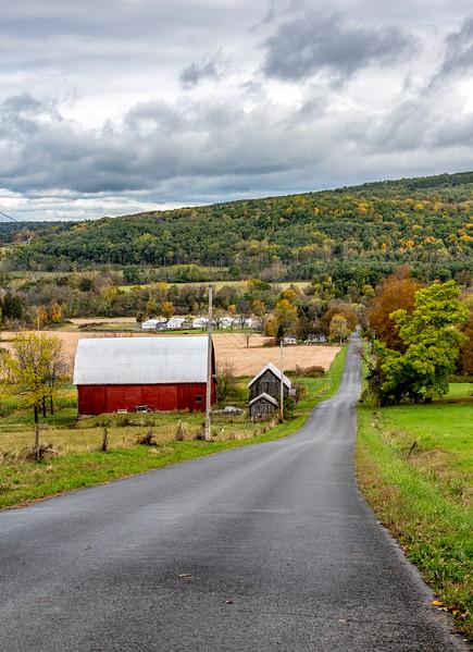 An Autumn Scene in New York State 10/16/17