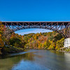 A Bridge Surrounded By Autumn Colors 10/22/20