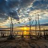 Cloudy Sunrise Over Manasquan Reservoir
