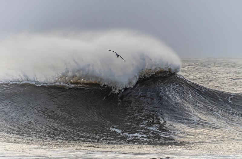Rough Seas At Ocean Grove Beach 12/17/20