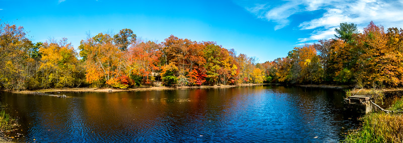 Autumn Lake, Allaire State Park, Howell, NJ