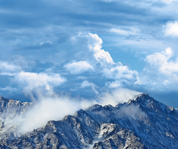 Clouds in the Sierras
