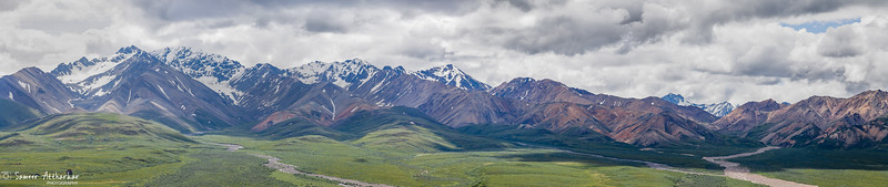 The Mighty Alaskan Range