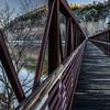 James River Foot Bridge on the Appalachian Trail Virginia
