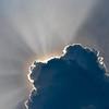Sun Rays Around Clouds