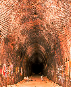 Abandoned Train Tunnel Waynesboro Virginia