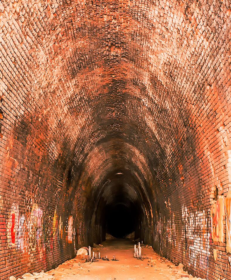 Abandoned Train Tunnel Waynesboro Virginia