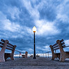 Moody Storm Clouds Over The Ocean Grove Pier 8/10/21
