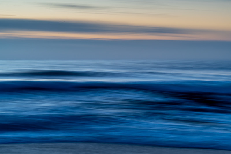 Silky Ocean Waves Using Intentional Camera Motion Technique 4/5/20