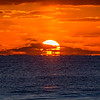 Cloudy Sunrise on Ocean Grove Beach 3/3/16