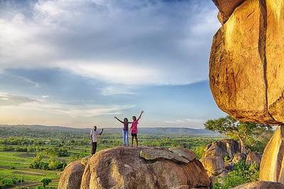 From the top of Kit Mikayi.  @inyika4 #landscape #landscapes @sheilainafrica #tembeakenya #igkenya #vscokenya #clouds #nature #everydayafrica #everydayeverywhere #kisumu #Travelbug #travelphotography #kitmikayi #hdr_beautiful_landscapes #hdr #hdrphotograp
