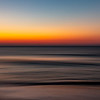 Pan Shot Over Predawn Colors Over Ocean 7/14/19