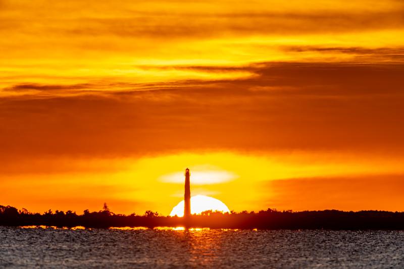 Sunrise Behind The Barnegat Lighthouse 8/30/20