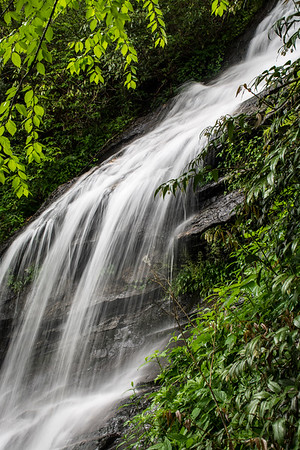 Waterfalls on the Blue Ridge Parkway North Carolina