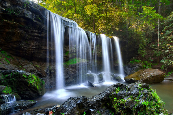 Waterfall in South Carolina