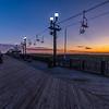 Sunrise Over The Seaside Heights Boardwalk 9/8/19