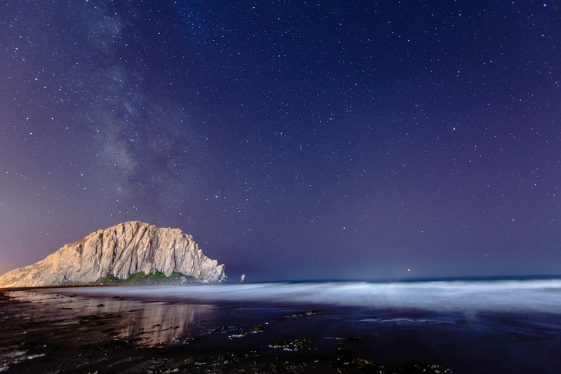 Morro Rock and the Milky Way I.