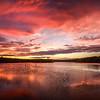 Red Sunset, Manasquan Reservoir, Howell, NJ