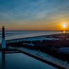 Sunrise Over Barnegat Lighthouse 1/21/18