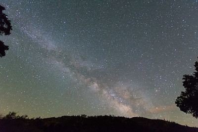 The Milky Way from the Pinnacles.