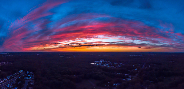 Sunset Over Farmingdale 7/6/18