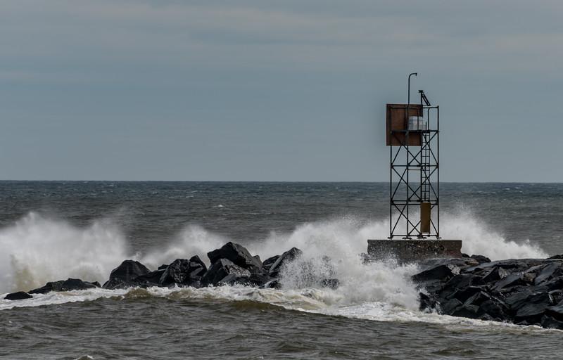 Rough Seas at Shark River Inlet 3/3/18