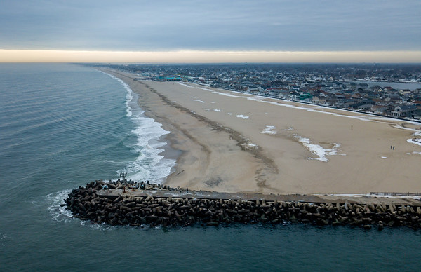 Manasquan Inlet Looking South 1/11/18