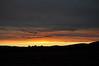 Farm sunset near Cambria, CA.