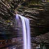 Center Cascade Waterfall in Watkins Glen State Park, NY 10/16/17