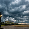 Storm Clouds Over Belmar Boardwalk 7/6/20