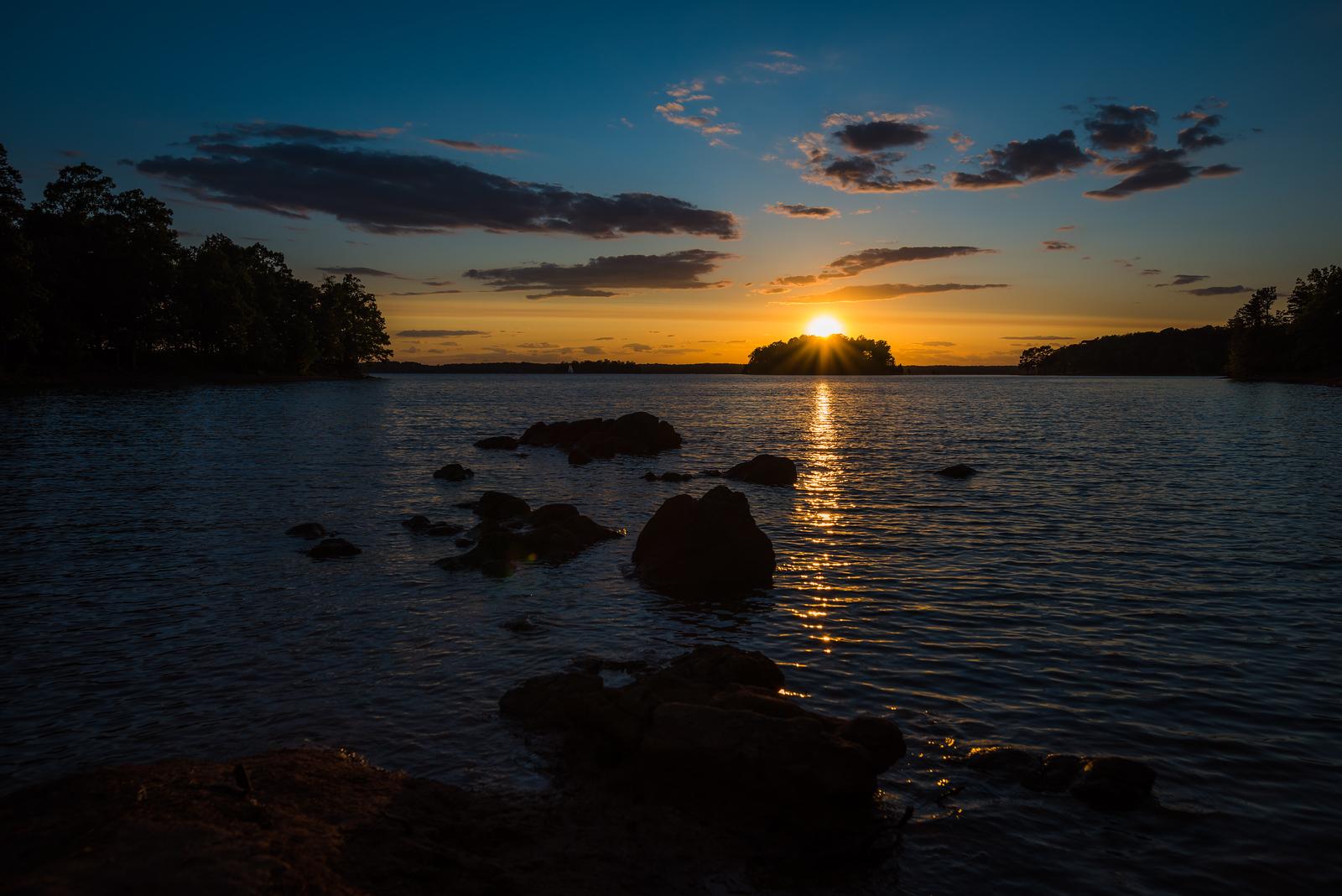 Sunset on Lake Hartwell