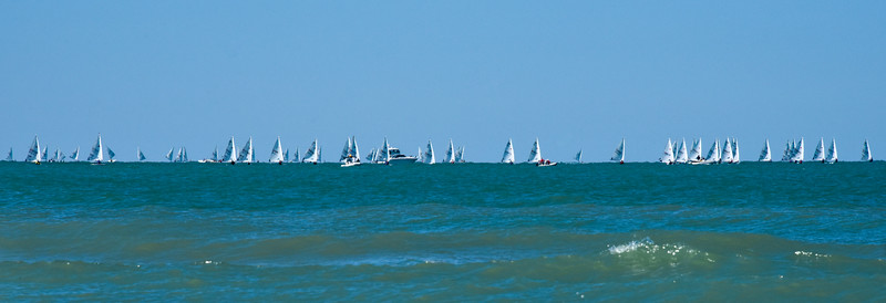 Sailboats on the Gulf of Mexico 2/26/17