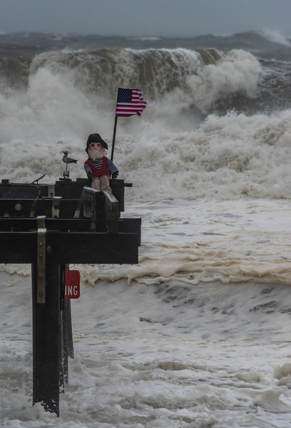 Nor'easter at Ocean Grove Pier and Ralph 10/27/18