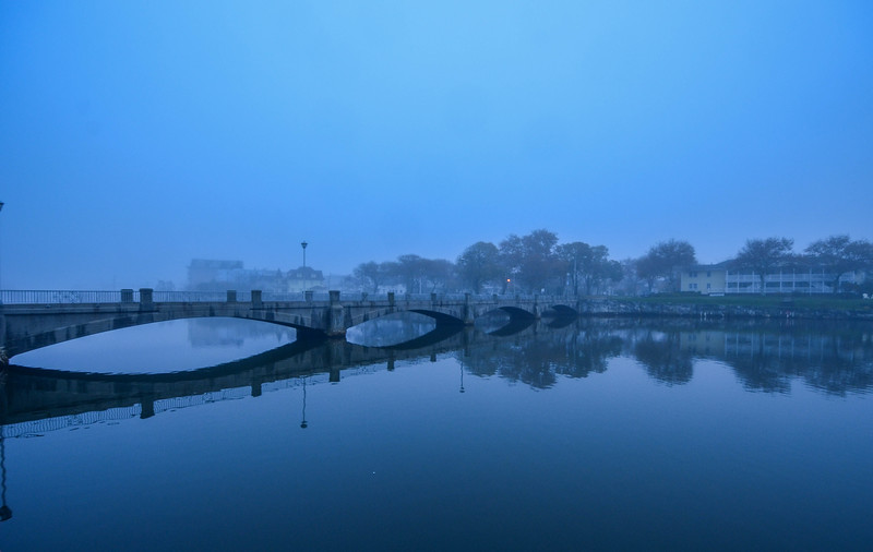 Foggy Morning at Wesley Lake, Ocean Grove, NJ