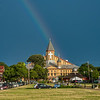 A Rainbow Over The Great Auditorium in Ocean Grove 7/6/18