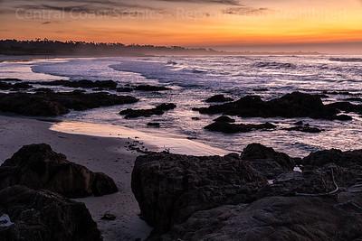 Sunset, Spanish Bay