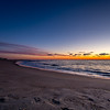 Pre-Dawn Colors on Ocean Grove Beach 3/3/16