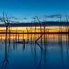 Predawn Colors Over Frozen Manasquan Reservoir 1/26/19