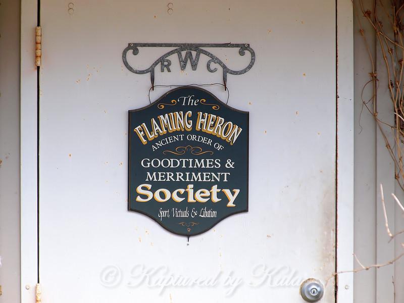The Flaming Heron Society