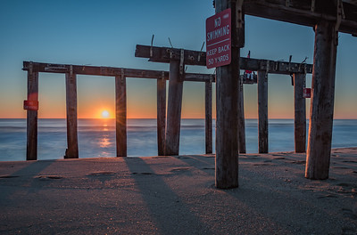Ocean Grove Pier Sunrise 11/25/17