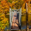 An Autumn Foot Bridge At Bear Mountain 10/22/20
