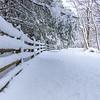 Snowy Scene at Manasquan Reservoir 3/22/18