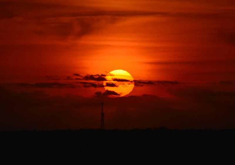 Airport Sunrise, Orlando, FL