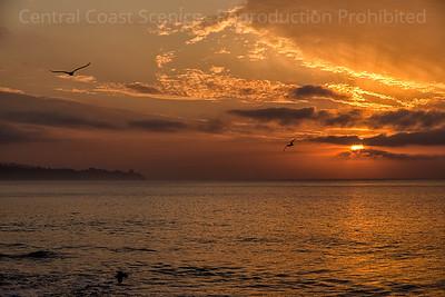 Rising Sun, Goleta Beach 4