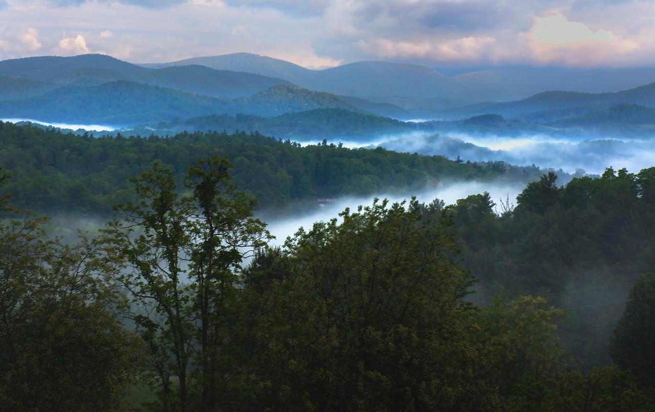 Blue Ridge Parkway North Carolina